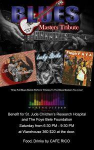 Blues Masters Tribute April 27